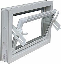 Kippfenster weiss 100 x 60 cm Isolierglas