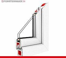 Kippfenster Weiß FX / PVC , BxH:1100x500, Glas:3-Fach