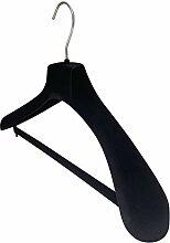 Kiroplast 12 Kleiderbügel aus Samt für Hosen,