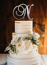 KISKISTONITE Cake Topper, N Cake Topper Hochzeit