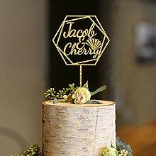 KISKISTONITE Cake Topper, Personalisierte