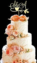 KISKISTONITE Cake Topper, S Buchstabe A Kuchen