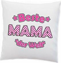 Kissen 'Bester PAPA MAMA OMA OPA' Spaß Geburtstag Kissenschlacht Beste Lieblings Vatertag Muttertag Geschenkidee, Design:Design 2, Kissen:Premiumkissen