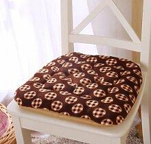 Kissen, Bürostuhl, Hocker Kissen Baumwolle Stoff atmungsaktiv Copper cushion