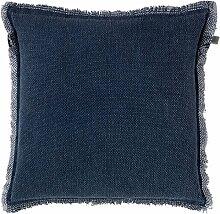 Kissen Burto 70x70 cm dunkel blau - Dekokissen