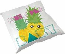 Kissen Dekoration Ananas Pineapple Baby Chibi Kawaii by Fluffy Chamalow Chamalow-Shop