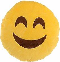 Kissen Emoji Plüsch Smile
