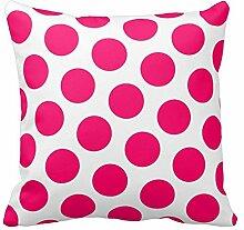 Kissen Fall Decor Kissen Dot Muster für Raum, Color1, 20x20 inch