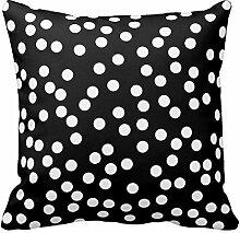 Kissen Fall Dots Muster Kissen Cover Home Sofa Deko, Color1, 18x18 Inch