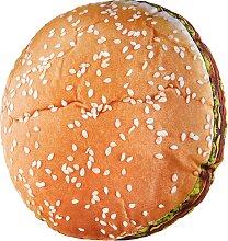 Kissen Hamburger, orange (0