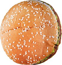 Kissen Hamburger, orange