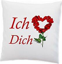 Kissen - Ich liebe dich - Valentinstag Valentine