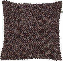 Kissen Isunda 45x45 cm dunkel grau/multi - Dekokissen Zierkissen Heimtextilien Deko Kissen