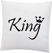 Kissen King and Queen Fashion Wedding Hochzeit