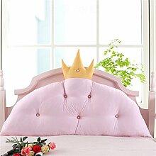 Kissen Kissen Rückenlehne Bedside Einzelbett Doppelbett Bett Große Kissen Kissen Lovely Comfortable Soft ( farbe : # 2 , größe : Length 0.7m )