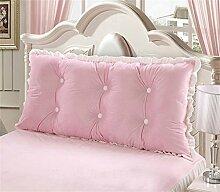Kissen Kissen Rückenlehne Bedside Einzelbett Doppelbett Bett Große Kissen Kissen Lovely Comfortable Soft ( farbe : #1 , größe : Length 1.9m )