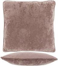 Kissen mit Füllung FREY 45x45cm old pink altrosa
