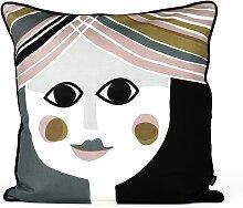Kissen Mrs. 50 x 50 cm