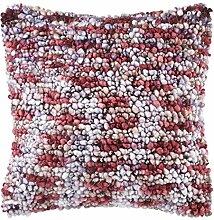 Kissen Noble 45x45 cm bordeaux