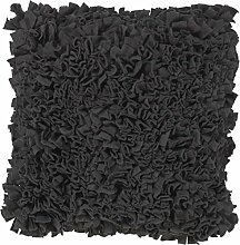 Kissen Pillo 45x45 cm dunkel grau - Dekokissen Zierkissen Heimtextilien Deko Kissen