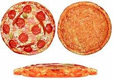 Kissen Pizza für Pizzaliebhaber in Pizzakarton