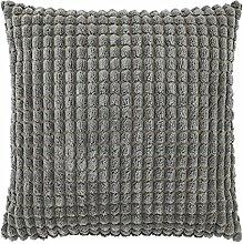 Kissen Rome 70x70 cm dunkel grau - Dekokissen Zierkissen Heimtextilien Deko Kissen