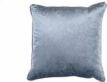 Kissen Saar 45x45 cm blau - Dekokissen Zierkissen