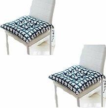 Kissen Stuhl Sitzpolster mit Krawatten Esszimmer