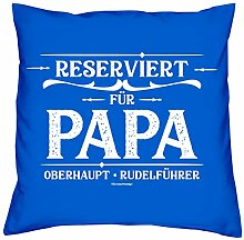 Kissen & Urkunde Geschenkidee für den Vatertag
