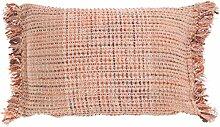 Kissen Vivan 40x60 cm hell rosa - Dekokissen Zierkissen Heimtextilien Deko Kissen