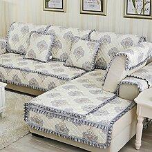 Kissen Winter Schlupf Sofa/Einfachen modernen Stoff europäischen Sitz-A 90x90cm(35x35inch)