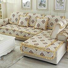 Kissen Winter Schlupf Sofa/Einfachen modernen Stoff europäischen Sitz-O 70x90cm(28x35inch)