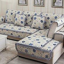 Kissen Winter Schlupf Sofa/Einfachen modernen Stoff europäischen Sitz-K 70x90cm(28x35inch)
