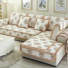 Kissen Winter Schlupf Sofa/Einfachen modernen Stoff europäischen Sitz-P 110x210cm(43x83inch)