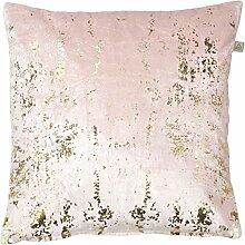 Kissen Yucca 45x45 cm hell rosa - Dekokissen Zierkissen Heimtextilien Deko Kissen