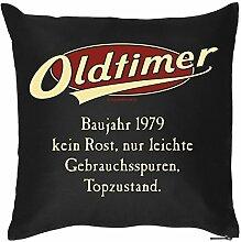 Kissen zum 39. Geburtstag 39 Jahre Geburtstagsgeschenk Geschenk zum Geburtstag Kopfkissen Polster Geschenkidee Jahrgang 1979