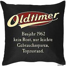 Kissen zum 56. Geburtstag 56 Jahre Geburtstagsgeschenk Geschenk zum Geburtstag Kopfkissen Polster Geschenkidee Jahrgang 1962
