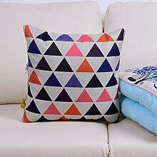Kissenbezüge Dual-Use-Kissen/ Frühling und Herbst Quilt/ Sofa Fahrzeugklimatisierung und NICKERCHEN auf einem Kissen/Pillow NAP-I 41x41cm(16x16inch)