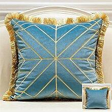 Kissenbezüge Gold-Geometric Dekokissen Kästen