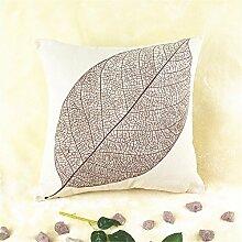 Kissenbezüge Kreative Kaffee Blätter
