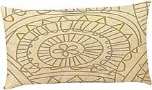 Kissenbezüge Longra Home Auto Bett Sofa dekorative Fall Kissen Geometrische Muster Kissenbezug Kissenhülle (30cm*50cm) (D)