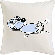 Kissenbezug 40x40cm Maus beim SchlafenCartoon