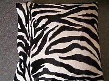 Kissenbezug Afrikalook und Kissen Federkissen 40 x 40cm