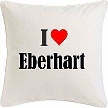Kissenbezug I Love Eberhart 40cmx40cm aus
