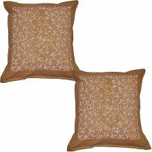 Kissenbezug Indisches Design Baumwolle