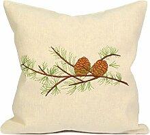 Kissenbezug Set aus Baumwolle - 30x30 cm -