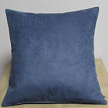 Kissenhülle Kissenbezug HABANA UNI 45x45cm blau