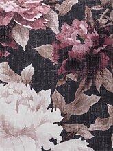 Kissenhülle mit schönem Blumendessin ca. 40/40
