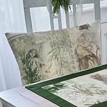 Kissenhülle: Tischwäsche mit malerischen