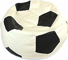 kissenwelt.de Sitzsack Fußball S (Ø 70cm) -